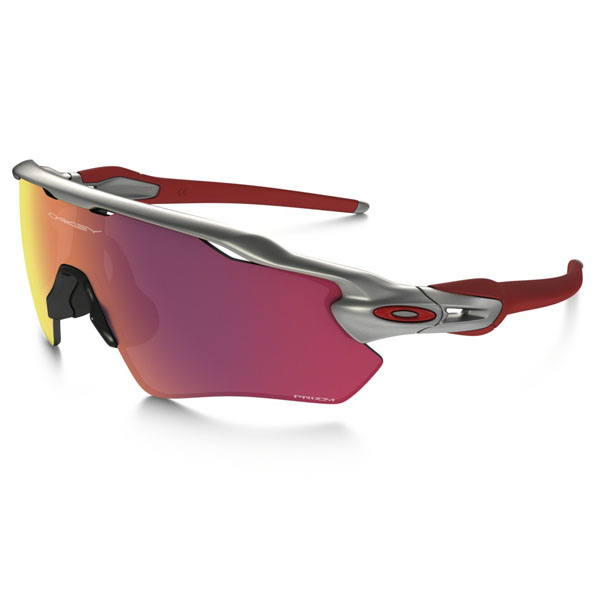 Oakley RADAR EV PATH PRIZM™ FIELD MLB COLLECTION SILVER/RED/RED Men OO9208-32 Outlet Store